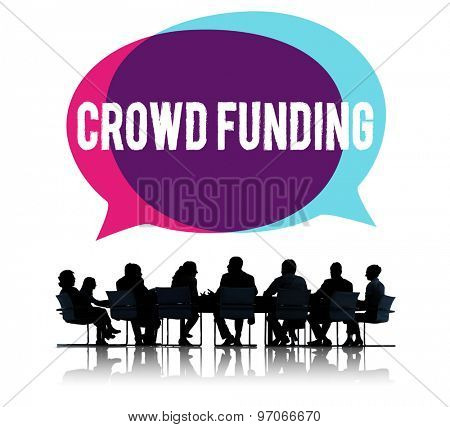 Crowd Funding Contribution Donate Fund Raiser Concept