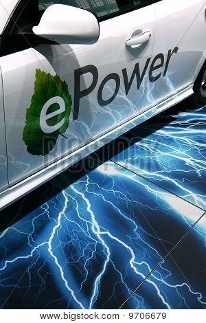 Saab 9-3 Epower At Paris Motor Show
