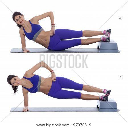 Side Plank Hip Raise