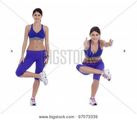 Single-leg Squats