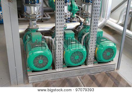 Three Powerful Green Pumps