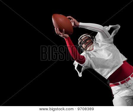 American Football-Spieler.