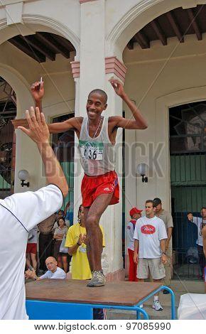 Isbel Milián, Marathon Winner, Havana 2005