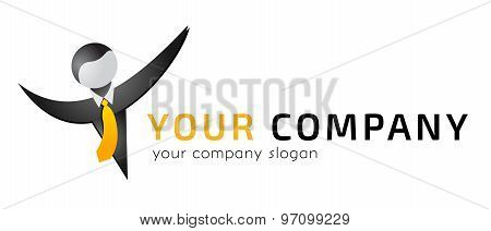 Logo template, vector, business