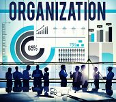 Organization Corporate Business Commitment Team Concept poster