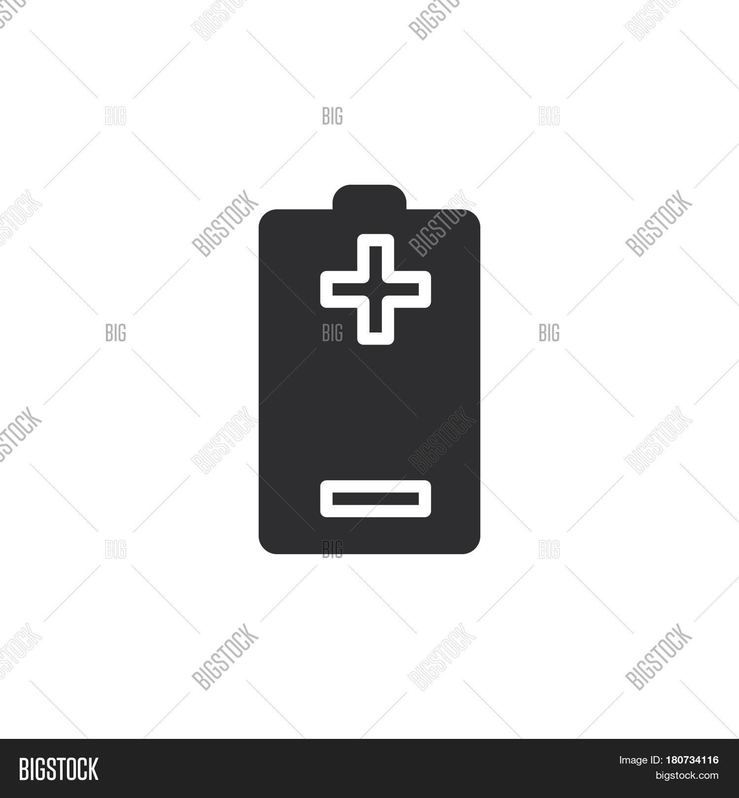 Battery Plus Minus Vector & Photo (Free Trial) | Bigstock