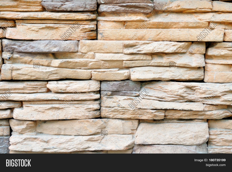 Stone Background Decorative Wall Image & Photo | Bigstock