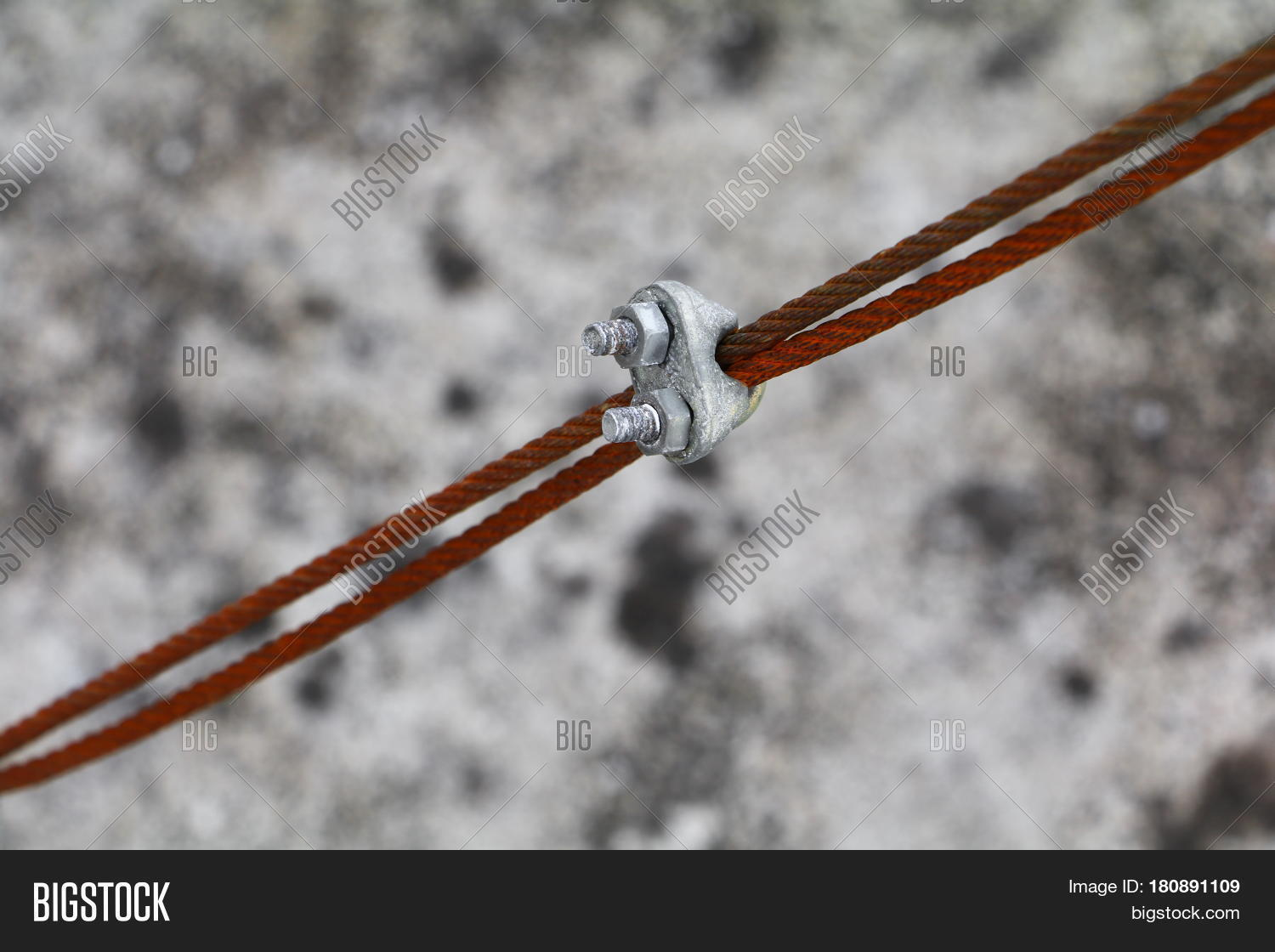 Wire Rope Clip Old Image & Photo (Free Trial) | Bigstock