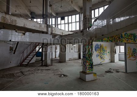 Abandoned Production Premise