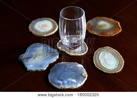 Mineral Coasters
