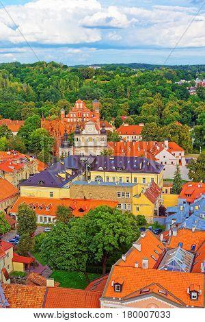 Churches Of Saint Anne And St Bernard In Vilnius