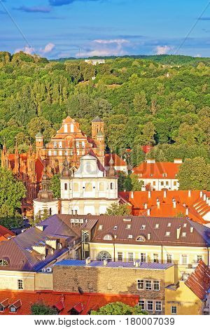Churches Of Saint Anne And St Bernard Of Vilnius
