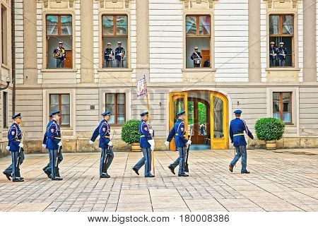 Changing The Guard Procedure