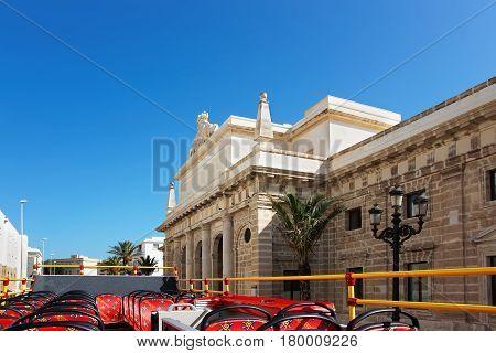 Royal Prison Building In Cadiz