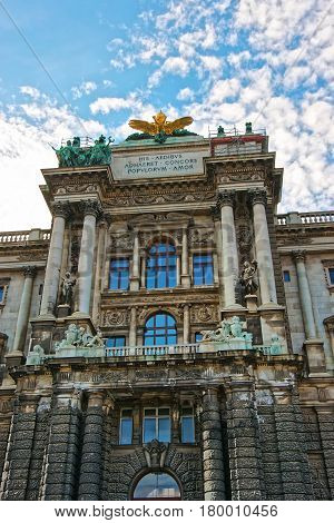 National Library Of Hofburg Palace Vienna