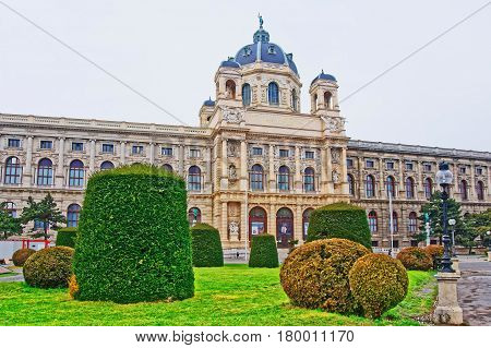 Vienna Museum Of Natural History In Austria