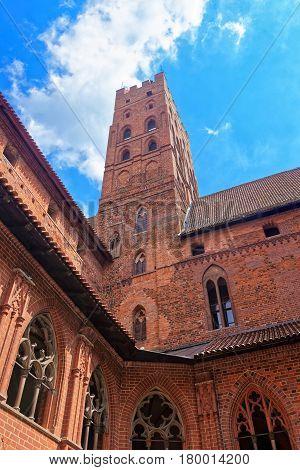 Architecture Of Malbork Castle Poland
