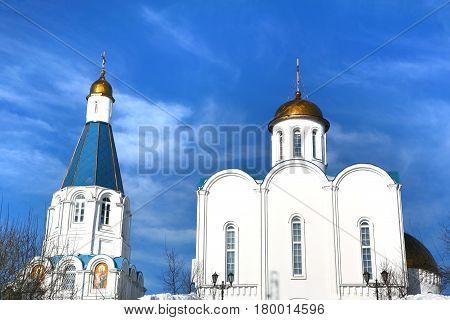 Church of the Savior in Murmansk city, Russia