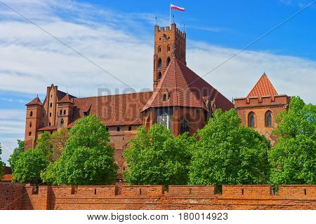 Malbork Castle Pomerania Poland