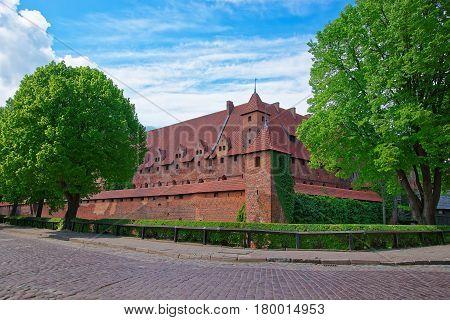 Malbork Castle Pomerania Province Of Poland