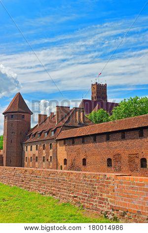 Malbork Castle In Pomerania Poland
