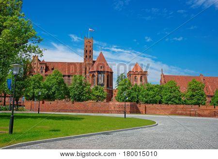 Malbork Castle In Pomerania Province Poland