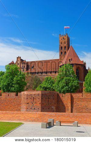 Malbork Castle Of Poland
