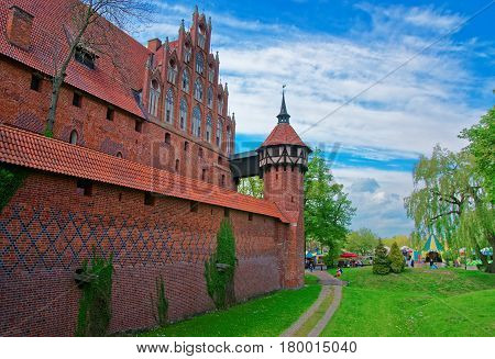 Malbork Castle Of Pomerania Province Poland