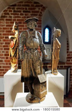 Statue At Malbork Castle