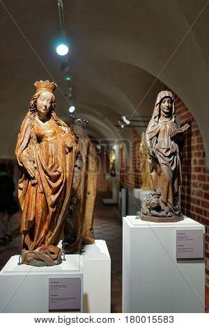 Statues At Malbork Castle