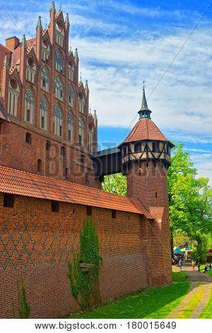 Tower Of Malbork Castle