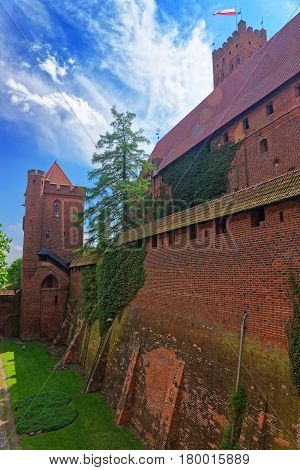 Walls Of Malbork Castle