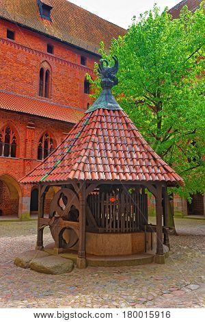 Well At Malbork Castle Poland