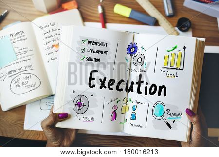 Business Execution Implementation Process Workflow