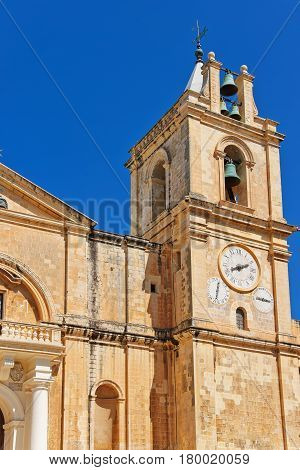 St John Co-Cathedral at Valletta old town Malta