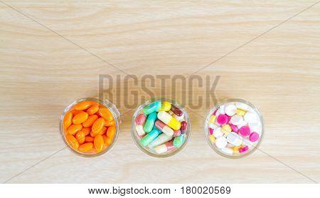 Medicine Pill And Capsule