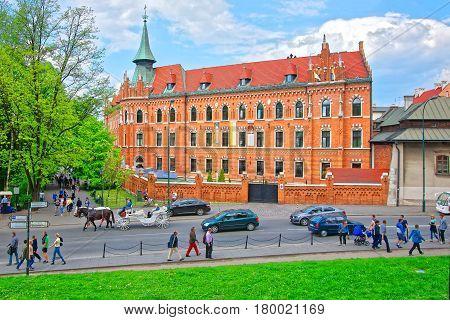 Catholic Seminary At Wawel Castle Krakow