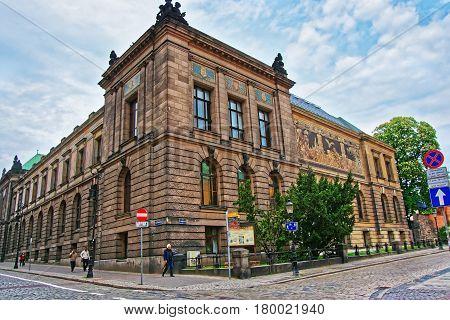 National Museum On Marcinkowski Avenue In Poznan