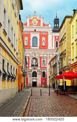 Saint Stanislaus Church At Old Town In Poznan