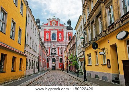 Saint Stanislaus Church On Old Town Poznan