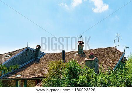 Chalets of Lavaux Lavaux-Oron district of Switzerland