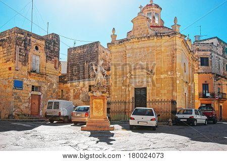 St Paul Church Square In Rabat