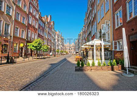 Great Arsenal On Piwna Street In Gdansk