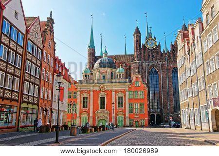 Royal Chapel Of King At St Mary Basilica Gdansk
