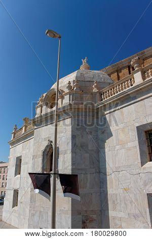 Entrance Into Cadiz Cathedral