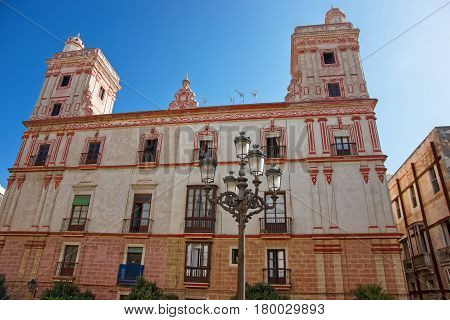 House Of Four Towers In Cadiz