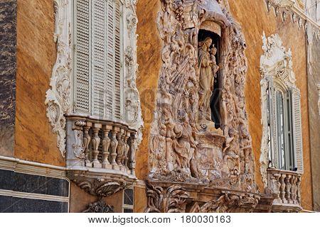 Palace Of Marquis De Dos Aguas In Valencia
