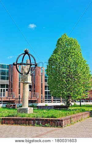 Monument Of Jan Heweliusz In Gdansk