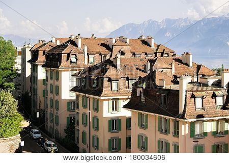 Chemin De Mornex And Alps Lausanne