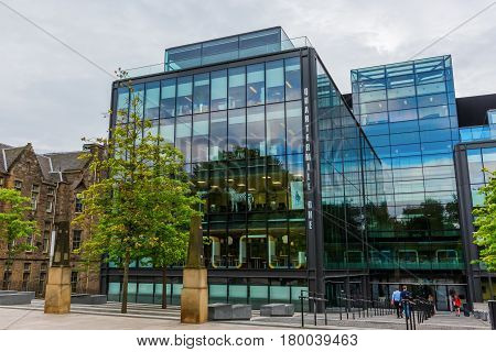 Quartermile Building In Edinburgh, Uk